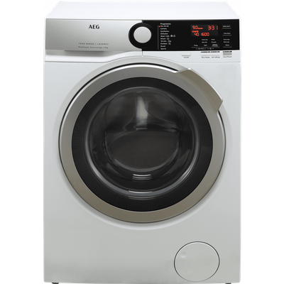 AEG ProSteam Technology L7FEE965R 9Kg Washing Machine with 1600 rpm - White - C Rated