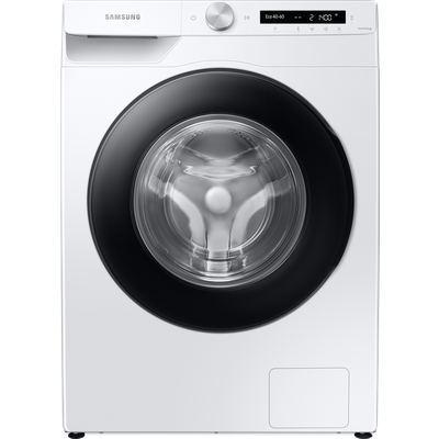 """Samsung Series 5+ AutoDoseâ""""¢ WW80T534DAW Wifi Connected 8Kg Washing Machine with 1400 rpm - White - B Rated"""