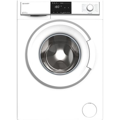 Sharp ES-HFB8143WD-EN 8Kg Washing Machine with 1400 rpm - White - A+++ Rated