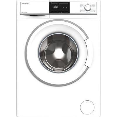 Sharp ES-HFB8143WD-EN 8Kg Washing Machine with 1400 rpm - White - A+++ Rated