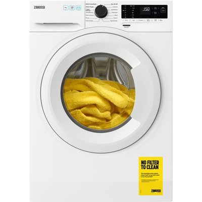Zanussi ZWF943A2PW 9Kg Washing Machine with 1400 rpm - White - A+++ Rated