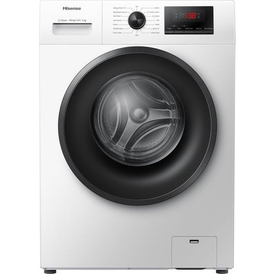 Hisense WFPV6012EM 6Kg Washing Machine with 1200 rpm - White - A+++ Rated