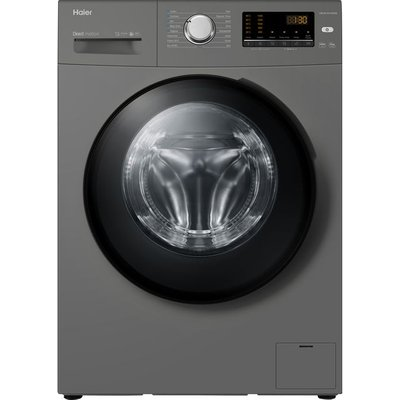Haier HW100-B1439NS8 10Kg Washing Machine with 1400 rpm - Graphite - A+++ Rated