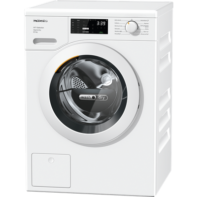 Miele WTD163 Wifi Connected 8Kg / 5Kg Washer Dryer with 1500 rpm - White - A Rated