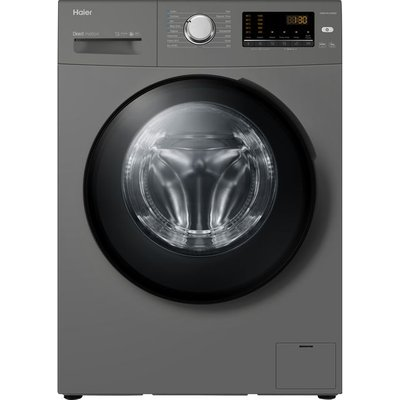 Haier HW90-B1439NS8 Washing Machine with 1400 rpm - Graphite - A Rated
