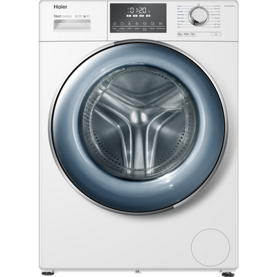Haier HW120-B14876N 12Kg Washing Machine with 1400 rpm - White - A Rated