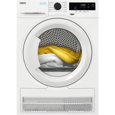 Zanussi ZDH87A2PW 8Kg Heat Pump Tumble Dryer - White - A++ Rated