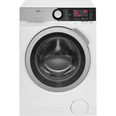 AEG Softwater Technology L9FEC966R 9Kg Washing Machine with 1600 rpm - White - A+++ Rated