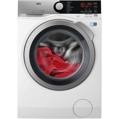 AEG ProSteam Technology L7FEE845R 8Kg Washing Machine with 1400 rpm - White - C Rated