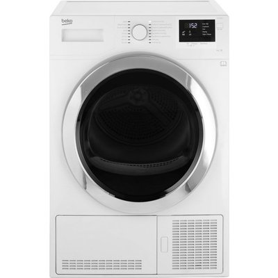 Beko DCR93161W 9Kg Condenser Tumble Dryer - White - B Rated