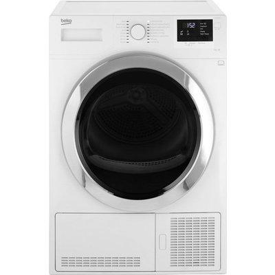 Beko DCR93161W 9Kg Condenser Tumble Dryer - White - B Rated