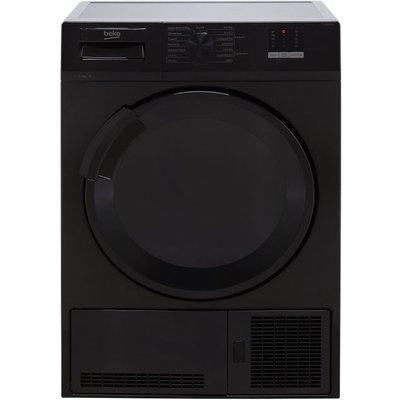 Beko DTLCE80051B 8Kg Condenser Tumble Dryer - Black - B Rated