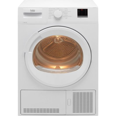 Beko DTLCE90151W 9Kg Condenser Tumble Dryer - White - B Rated