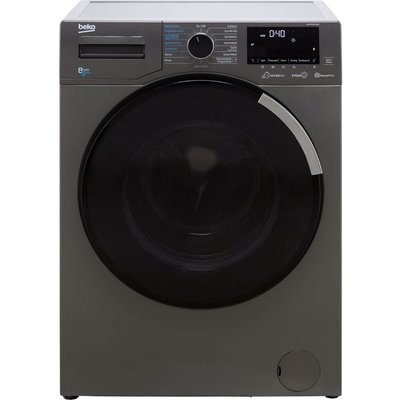 Beko WDEY854P44QG 8Kg / 5Kg Washer Dryer with 1400 rpm - Graphite - A Rated