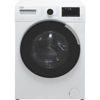 Beko WEY94P64EW 9Kg Washing Machine with 1400 rpm - White - A Rated