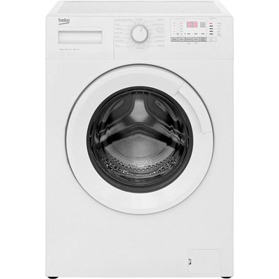 Beko WTG841B2W 8Kg Washing Machine with 1400 rpm - White - A+++ Rated