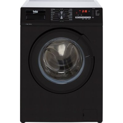 Beko WTL94151B 9Kg Washing Machine with 1400 rpm - Black - A+++ Rated