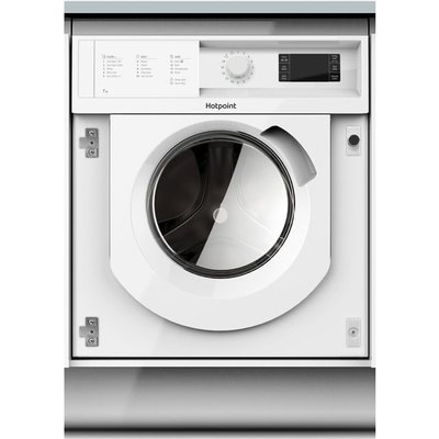 Hotpoint BIWMHG71484 Integrated 7Kg Washing Machine with 1400 rpm - White - A+++ Rated