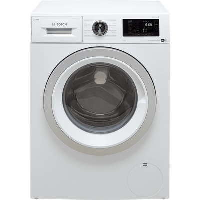 "Bosch Serie 6 i-Dosâ""¢ WAU28PH9GB Wifi Connected 9Kg Washing Machine with 1400 rpm - White - A+++ Rated"