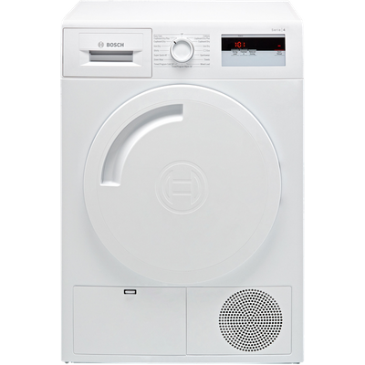 Bosch Serie 4 WTH84000GB 8Kg Heat Pump Tumble Dryer - White - A+ Rated