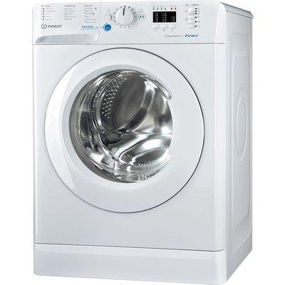 Indesit BWA81484XWUKN 8Kg Washing Machine with 1400 rpm - White - C Rated