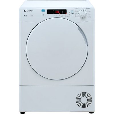 Candy Smart CSC8DF 8Kg Condenser Tumble Dryer - White - B Rated