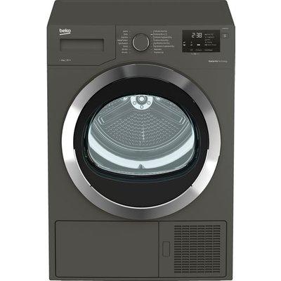 Beko DHR83431G 8Kg Heat Pump Tumble Dryer - Graphite - A++ Rated