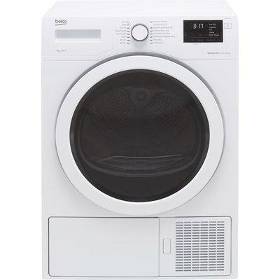 Beko DHR83431W 8Kg Heat Pump Tumble Dryer - White - A++ Rated