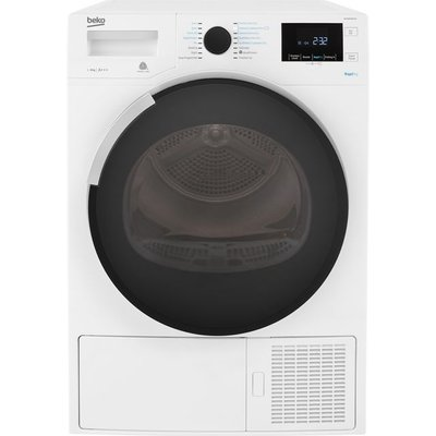 Beko DPHR8PB561W 8Kg Heat Pump Tumble Dryer - White - A+++ Rated