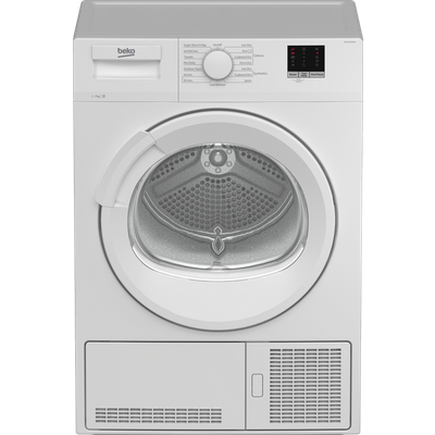 Beko DTLCE70151W 7Kg Condenser Tumble Dryer - White - B Rated