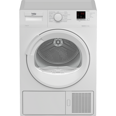 Beko DTLP91151W 9Kg Heat Pump Tumble Dryer - White - A+ Rated
