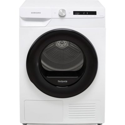 """Samsung Series 5+ OptimalDryâ""""¢ DV90T5240AW Wifi Connected 9Kg Heat Pump Tumble Dryer - White - A+++ Rated"""