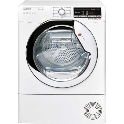Hoover Dynamic Next DXOHY10A2TCE Wifi Connected 10Kg Heat Pump Tumble Dryer - White - A++ Rated