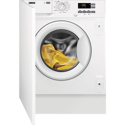 Zanussi Z712W43BI Integrated 7Kg Washing Machine with 1200 rpm - White - F Rated