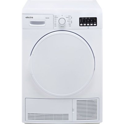 Electra TDC8112W 8Kg Condenser Tumble Dryer - White - B Rated