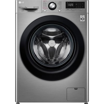 LG V3 F4V309SSE 9Kg Washing Machine with 1400 rpm - Graphite - A+++ Rated