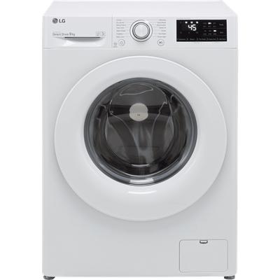 LG V3 F4V309WNW 9Kg Washing Machine with 1400 rpm - White - B Rated