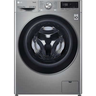 LG V7 F4V709STSE Wifi Connected 9Kg Washing Machine with 1400 rpm - Graphite - A+++ Rated
