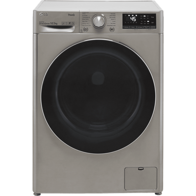 LG V7 F4V710STSE Wifi Connected 10.5Kg Washing Machine with 1400 rpm - Graphite - B Rated