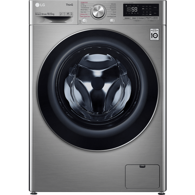 LG V7 F4V710STSE Wifi Connected 10.5Kg Washing Machine with 1400 rpm - Graphite - A+++ Rated