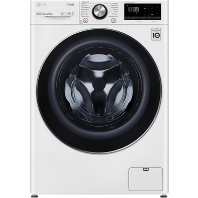 LG V10 F6V1009WTSE Wifi Connected 9Kg Washing Machine with 1600 rpm - White - A+++ Rated