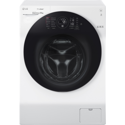 """LG TrueSteamâ""""¢ FH4G1BCS2 Wifi Connected 12Kg Washing Machine with 1400 rpm - White - A+++ Rated"""