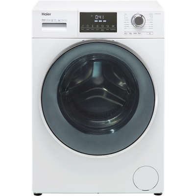 Haier HW80-B14876 8Kg Washing Machine with 1400 rpm - White - A+++ Rated