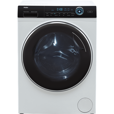 Haier HWD80-B14979 8Kg / 5Kg Washer Dryer with 1400 rpm - White - D Rated