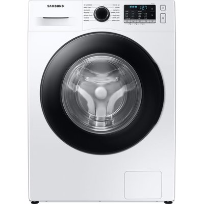 "Samsung Series 5 ecobubbleâ""¢ WW90TA046AE 9Kg Washing Machine with 1400 rpm - White - A Rated"