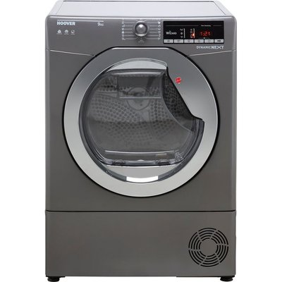 Hoover Dynamic Next DXOC9TCER Wifi Connected 9Kg Condenser Tumble Dryer - Graphite - B Rated