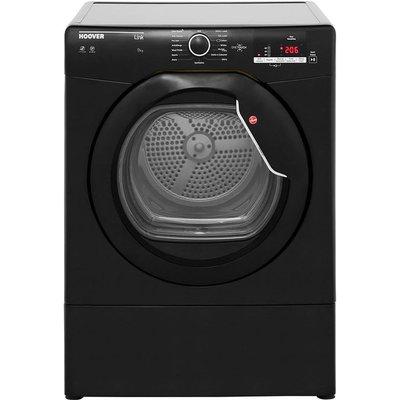 Hoover Link HLV9DGB 9Kg Vented Tumble Dryer - Black - C Rated