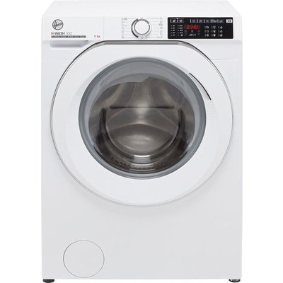 Hoover H-WASH 500 HW411AMC/1 Wifi Connected 11Kg Washing Machine with 1400 rpm - White - A Rated