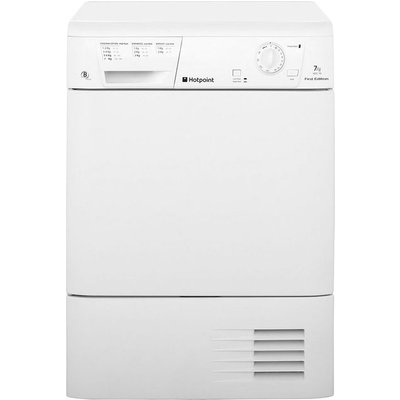 Hotpoint First Edition FETC70BP 7Kg Condenser Tumble Dryer - White - B Rated