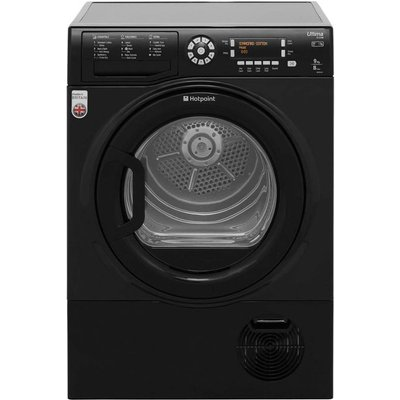 Hotpoint Ultima S-Line SUTCD97B6KM 9Kg Condenser Tumble Dryer - Black - B Rated